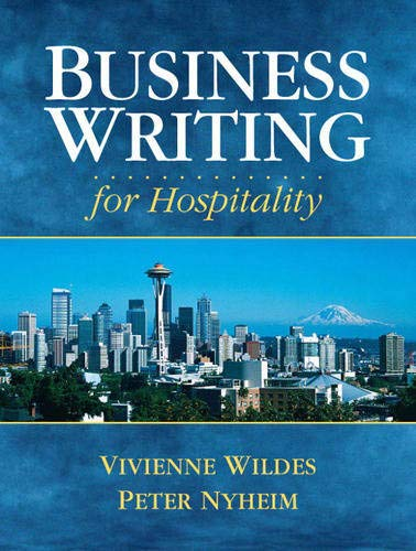 9780131715714: Business Writing for Hospitality