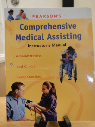 9780131715806: Instructor's Manual Comprehensive Medical Assisting-Administrative and Clinical Competencies