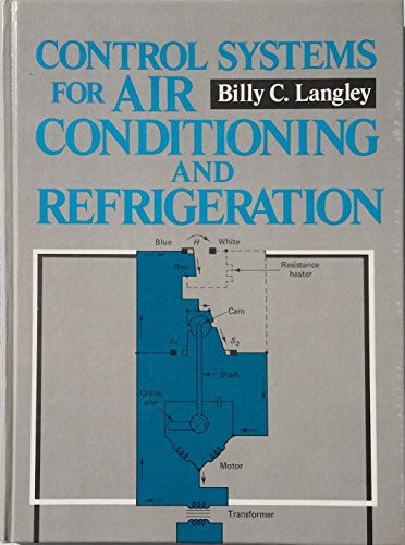 9780131716797: Control Systems for Air Conditioning and Refrigeration