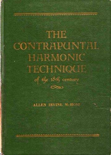 9780131718432: Contrapuntal Harmonic Technique of the Eighteenth