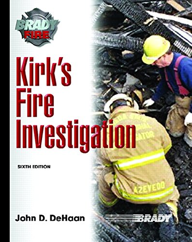 Kirk's Fire Investigation (Brady Fire): Haynes, Gerald A.