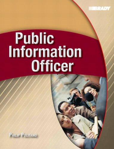 9780131719231: Public Information Officer