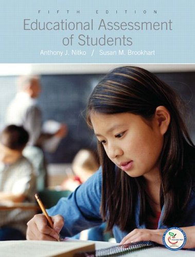9780131719255: The Educational Assessment of Students
