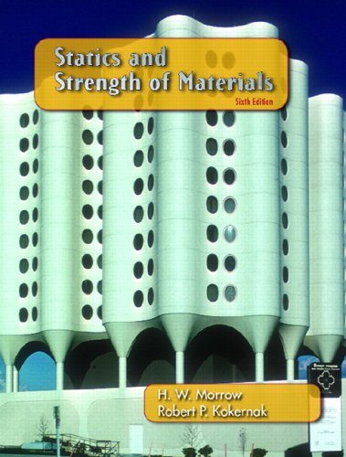 9780131719774: Statics and Strength of Materials (6th Edition)