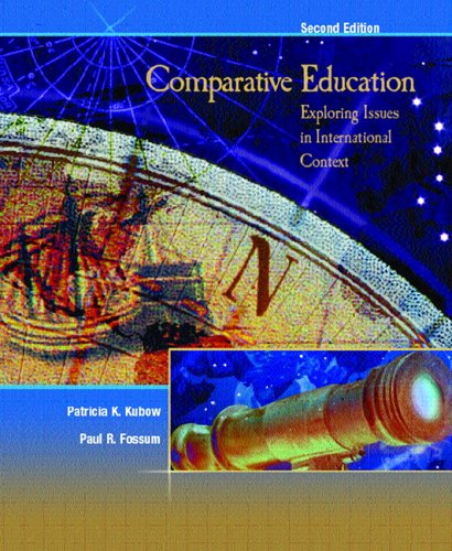 9780131719804: Comparative Education: Exploring Issues in International Context