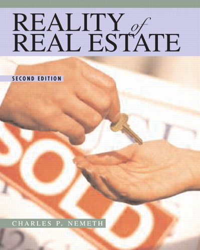 9780131720046: Reality of Real Estate (2nd Edition)