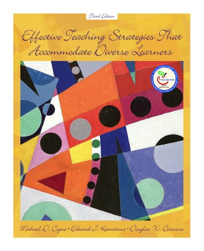 9780131720220: Effective Teaching Strategies that Accommodate Diverse Learners (3rd Edition)