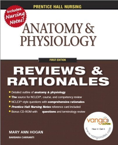 9780131720510: Prentice Hall Nursing Reviews and Rationales: Anatomy and Physiology (Prentice Hall Nursing Reviews & Rationales)