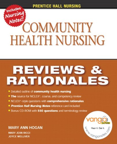 9780131720534: Prentice Hall Nursing Reviews & Rationales: Community Health Nursing