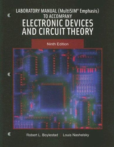 9780131720886: Lab Manual (MultiSIM Emphasis)