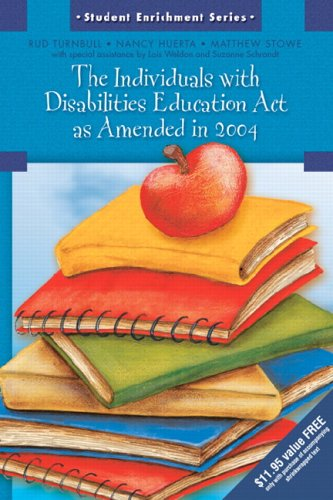 9780131721746: The Individuals with Disabilities Education Act as Amended in 2004 (Student Enrichment Series)