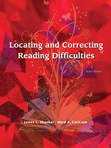 9780131722408: Locating and Correcting Reading Difficulties (9th Edition)