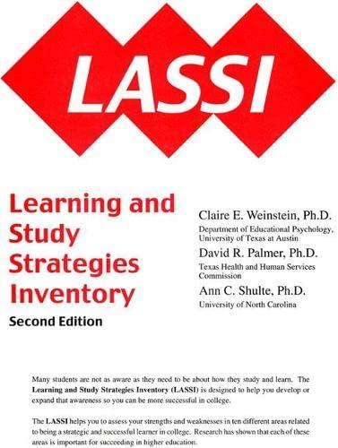 LASSI: H&h Publishing Inc.,