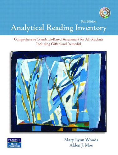 9780131723436: Analytical Reading Inventory (8th Edition) with 2 CDs