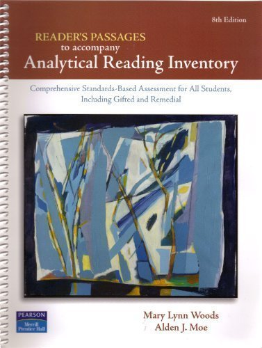 9780131723474: Analytical Reading Inventory: Readers' Passages