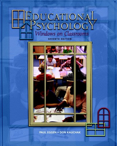 9780131724488: Educational Psychology: Windows on Classrooms (7th Edition)