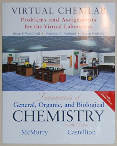 9780131728394: Virtual ChemLab: General Chemistry, Student Lab Manual/workbook, to Accompany