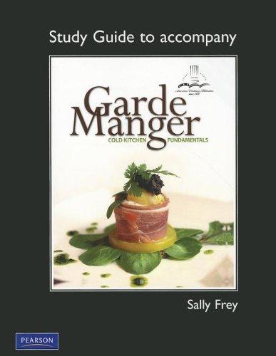 9780131729049: Garde Manger: Cold Kitchen Fundamentals