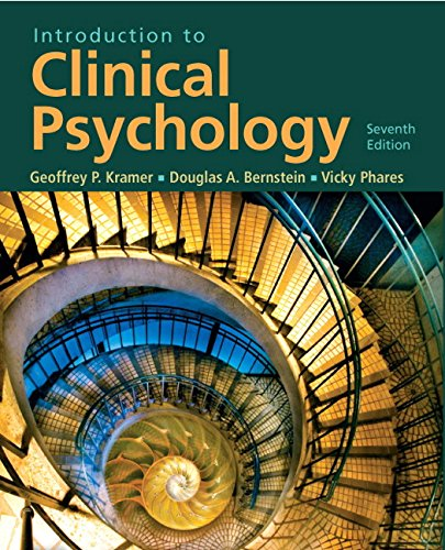 9780131729674: Introduction to Clinical Psychology