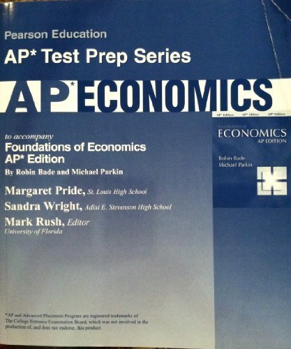 9780131730786: Foundations of Economics: Ap Test Prep