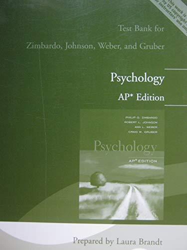 9780131731844: Psychology : AP* Test Bank