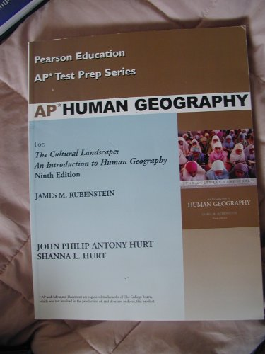 9780131732100: Pearson Education Test Prep Series: AP Human Geography