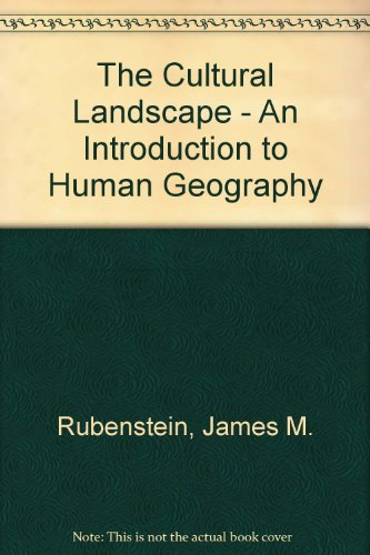 9780131732896: The Cultural Landscape - An Introduction to Human Geography