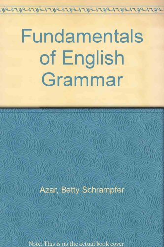 9780131733879: Fundamentals of English Grammar