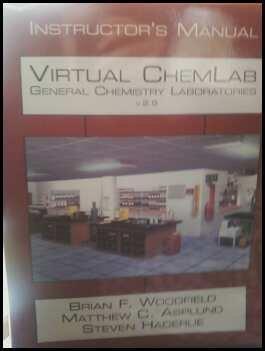 9780131734685: Virtual ChemLab: General Chemistry Laboratories - Version 2.5 (Instructor's Manual)