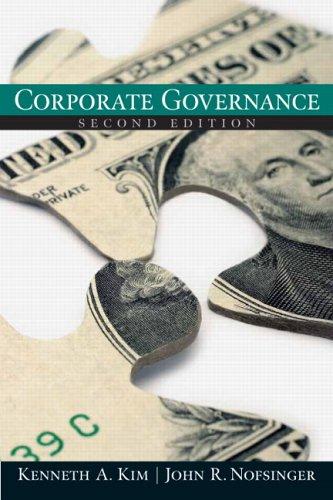 9780131735347: Corporate Governance