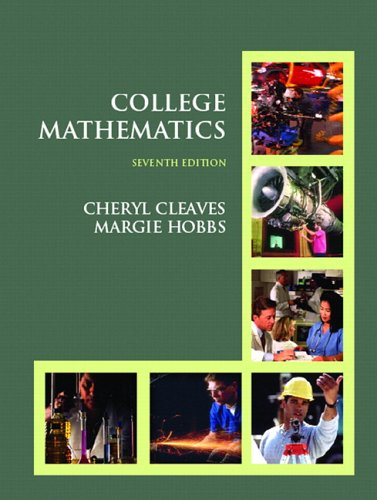 9780131735989: College Mathematics (7th Edition)