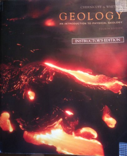 9780131737198: GEOLOGY (AN INTRODUCTION TO PHYSICAL GEOLOGY) 4TH INSTRUCTOR'S EDITION