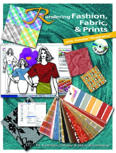 9780131737266: Rendering Fashion, Fabric and Prints with Adobe Illustrator