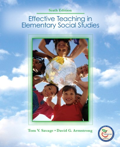 9780131738430: Effective Teaching in Elementary Social  Studies (6th Edition)
