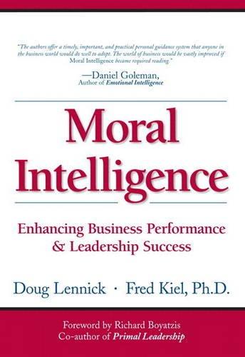 9780131740334: Moral Intelligence