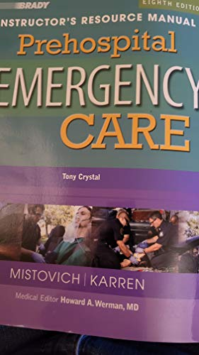 9780131741560: Prehospital Emergency Care: Instructor's Resource Manual, 8th Edition
