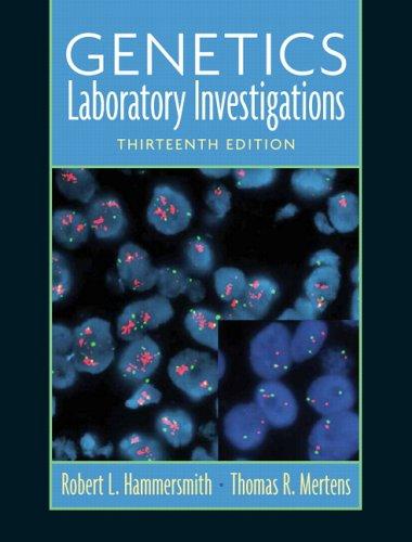 9780131742529: Genetics: Laboratory Investigations