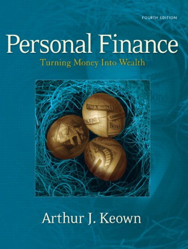 9780131742819: Personal Finance: Turning Money into Wealth and Student Workbook