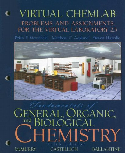 Virtual ChemLab: General Chemistry, Student Lab Manual: Matthew C Asplund,