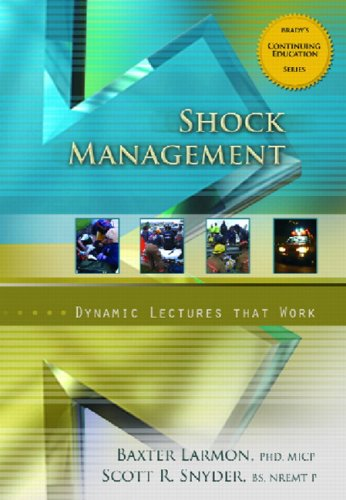 9780131743892: Shock Management, Dynamic Lectures Series