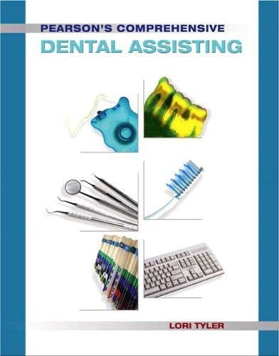 9780131744196: Pearson's Comprehensive Dental Assisting