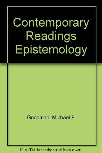 Contemporary Readings in Epistemology