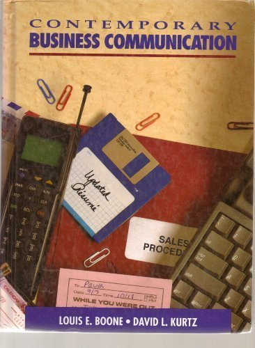 9780131747319: Contemporary Business Communication
