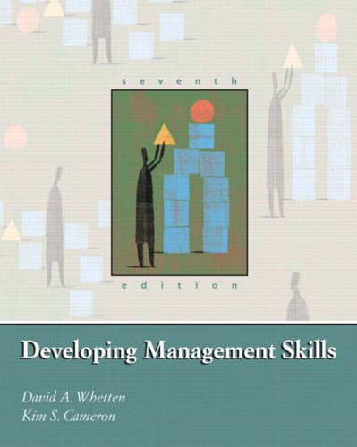 9780131747425: Developing Management Skills