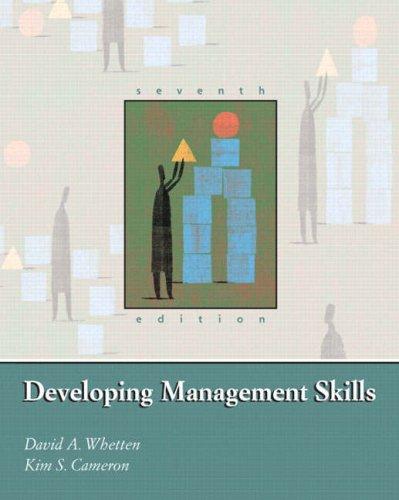 9780131747425: Developing Management Skills