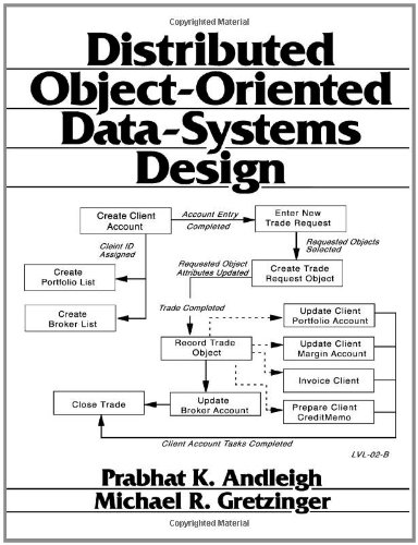 9780131749139: Distributed Object-Oriented Data-Systems Design