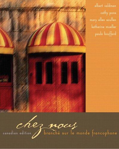 9780131749504: Chez Nous Branche Sur Le Monde Francophone Canadian Edition