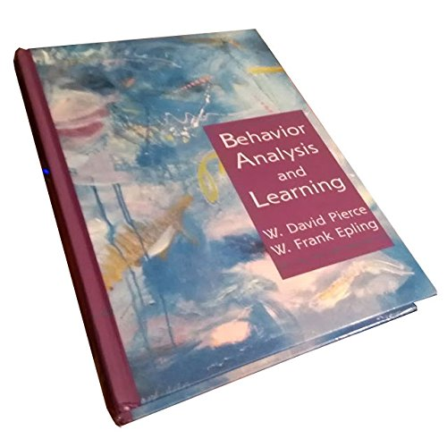 9780131753730: Behavior Analysis and Learning