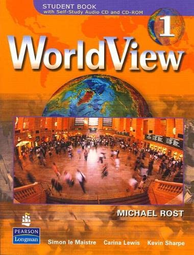 9780131754102: WorldView 1B with Self-Study Audio CD and CD-ROM (Units 15-28): Student Book with Self-study Audio CD and CD-ROM (Units 15-28) Bk. 1B