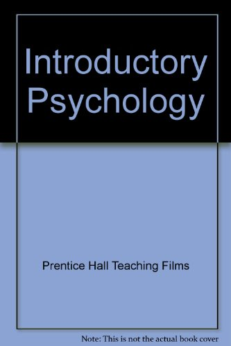 9780131754324: Introductory Psychology